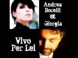 Andrea Bocelli & Giorgia – Vivo Per Lei